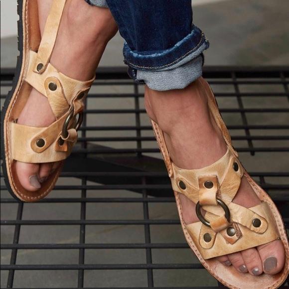 c7c73428af92 Bed Stu Shoes - • Bed Stu • Corinth Flat Sandals Boho Tan